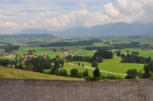 Allgäu,vue de Eisenberg